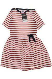 Petit Bateau Kleid Mädchen Dress Damenkleid Gr. DE 128 Baumwolle rot #7f37054