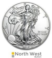 American Silver Eagle, 2017 uncirculated 1oz Silver Bullion Coin