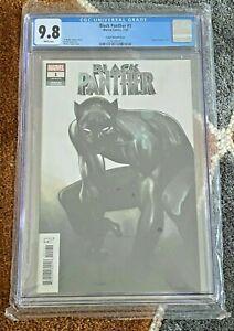 BLACK PANTHER #1 CGC 9.8 🔥 1:50 COIPEL VARIANT 🔥 Marvel Movie 1st Print  WP !