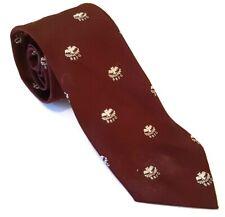 BRFC Rugby Club Tie Red Polyester Vintage T42