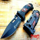"""9"""" MTECH USMC MARINES Spring Open Assisted Tactical Rescue Folding POCKET KNIFE"""