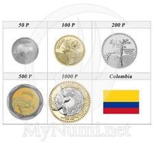 2012 * set 5 monete Pesos Colombia