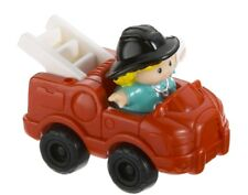 Fisher Price Little People Red Fire Truck & Cheryl EMT NEW