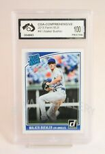 2018 Panini Donruss Walker Buehler Rookie Card Graded PRISTINE