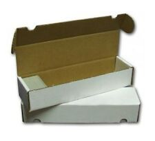 Sport Images 800 Count Cardboard Trading Card Storage Boxes X 5 NEW