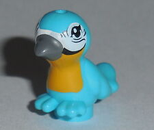 ANIMAL Lego Med. Azure Bird w/ grey beak  NEW Friends,Sparrow,Disney,Elves