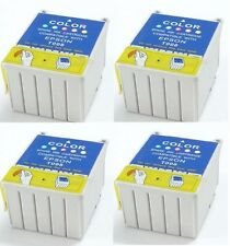 4-PK Non-OEM Ink T008 008 For Epson Stylus 780 785 EPX 825 870 875DC 875DCS 890