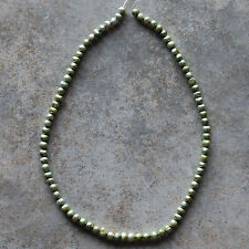 Sage Green Genuine Freshwater Pearl Rice Loose Beads Strand 14.5""