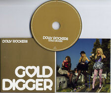 DOLLY ROCKERS Gold Digger 2009 UK 2-track promo CD