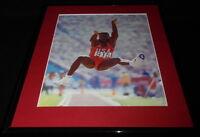Carl Lewis Olympics Framed 11x14 Photo Display