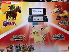 Nintendo,3ds ,  Pokémon , super smash bro's , Pokémon,GameStop display poster