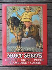 Gueuze Kriek Mort Subite 43x32cm Karton
