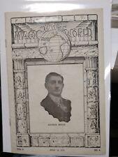 Arthur Moris Issue 1919 The Magic World Periodical