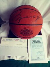 Michael JORDAN Autographed Official Spalding Game Basketball with C.O.A.-1996