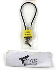 Project ChildSafe Cable Firearm Gun Lock with 2 Keys and Instructions Guide New