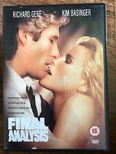 Richard Gere Kim Basinger Uma Thurman FINAL ANALYSIS ~ 1992 Erotic Thriller DVD