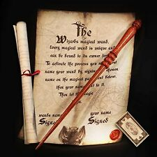2015 Harry Potter Style REAL MAGIC WAND! Handcrafted in the UK