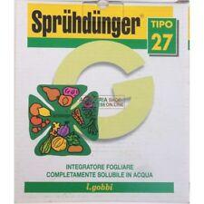 11996 GOBBI SPRUHDUNGER TIPO 27 CONCIME FOGLIARE N.P.K. 27.11.15 CON MICROELEMEN
