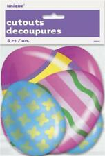 Articles de fête multicolore pour la maison Pâques Cuisine