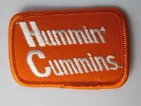 HUMMIN' CUMMINS TRUCK ENGINE VINTAGE HAT VEST  PATCH BADGE DEALER ADVERTISING