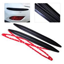 2pcs Universal Car Carbon Fiber Anti-rub Protector Bars Corner Bumper Guard 42cm