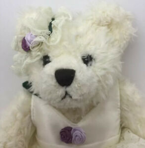 """Bianca Bear Of Love 11"""" Brass Button Pickford Bear Collectable With Tags"""
