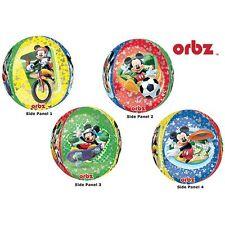 Party Supplies Birthday Girls Boys mickey Mouse Orbz Round Balloon