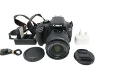 Canon 4000D Camera DSLR 18.0MP with 18-55mm, Shutter Count 24462, Very Good Cond