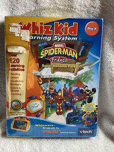 VTech Whiz Kid Learning System Spider -man Pre K