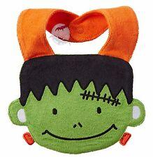 New Carter's Terry Frankenstein Monster Halloween Baby Bib