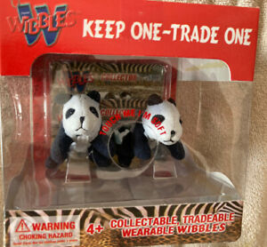 2004 WIBBLES BLACK BEARS ..KEEP ONE TRADE ONE COLLECTIBLES NEW IN BOX