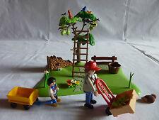 PLAYMOBIL personnage accessoire animaux ferme arbre verger cueillette des pommes