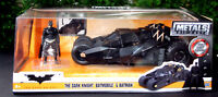 2008 Batmobile mit Batman The Dark Knight, 1:24, Jada 98261 neu 2017 neu
