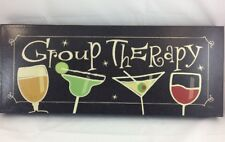 """Group Therapy  20""""x8"""" by Creative Products Wrap Canvas"""