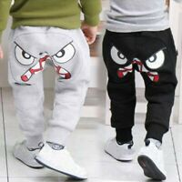 Children Kid Baby Boy Girl  Cartoon Bird Tongue Harem Pants Trousers Long Pants