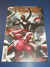 Captain Marvel #12 Lee Variant NM Gem Wow Avengers