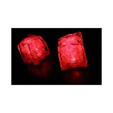 Red Litecubes (24 Pack) Light Up LED Ice Cubes 2 Dozen