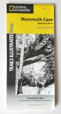 National Geographic Trails Illustrated KY Mammoth Cave National Park Map 234