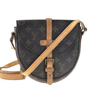 100% authentic Louis Vuitton monogram Shanti M51234 bag used 1290-12bZ15