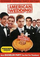 American Wedding - Unrated Extended Party Edition - New Factory Sealed DVD WS