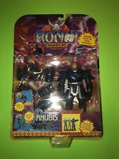 RONIN WARRIORS ANUBIS ACTION FIGURE by PLAYMATES 1995! NEW SEALED!