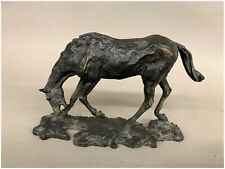 After Degas, Ebonized Horse Metal and Composition Sculpture, MFA 1989