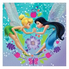 "16 Disney Tinkerbell Fairies Birthday Party 6.5"" Lunch Napkins Serviettes"