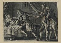 Erzählerische Szenen. Abstrus, erotisch, grausam, humorvoll,  19. Jh, Kupf IV.