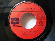 GEORGIE FAME Yeh yeh / Peach and teach SCRF 846 JUKE BOX