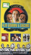 """I """"corti"""" di Aldo, Giovanni & Giacomo (1996) VHS Video Cabaret"""