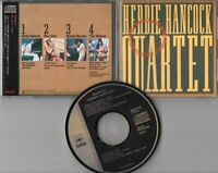 Herbie Hancock CD QUARTET © 1982 CBS SONY Japan # 45DP 54 Jazz - NEU MINT