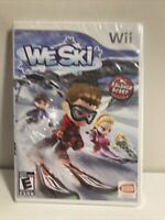 We Ski (Nintendo Wii, 2008) BRAND NEW FACTORY SEALED