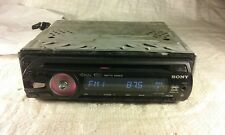 Sony CDX GT33W CD Player In Dash Receiver