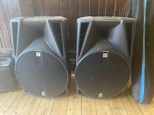 "db technologies 402 D Speakers Dj Disco Karaoke Band Speakers Active 12"" Drivers"